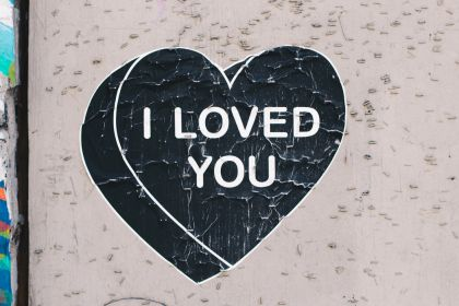 I loved You – Street wall artwork #1