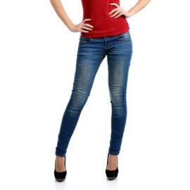 Kiara blue low rise skinny