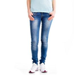 Romani blue low rise skinny jeans