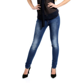 Missy navy low rise skinny fit jeans