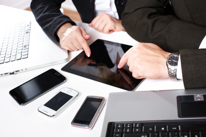 Latest mobile gadgets for business