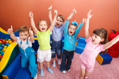 Kids personality development with group games