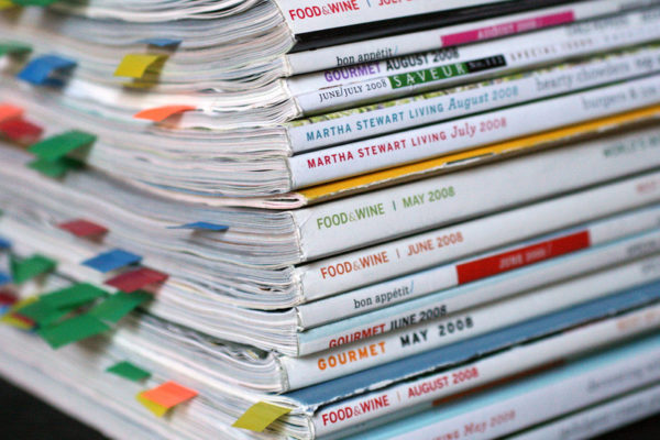 Survey on magazine readers for year 2011