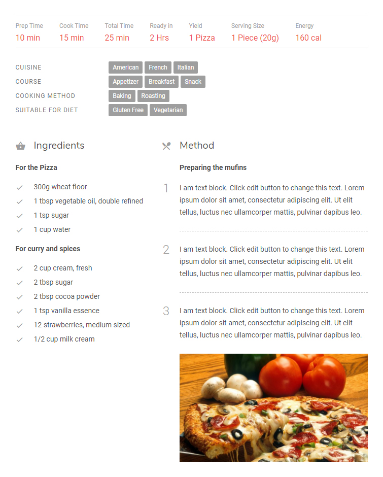 It is an image of Inventive Custom Nutrition Label Generator